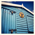 Beach hut detail